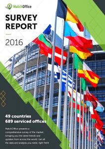 Kontorhoteller, MatchOffice report 2016