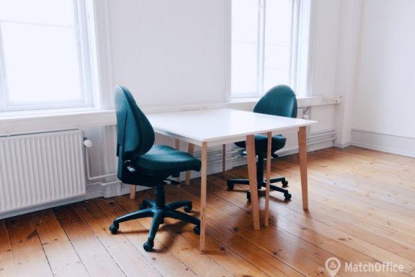 Coworking til leje København K