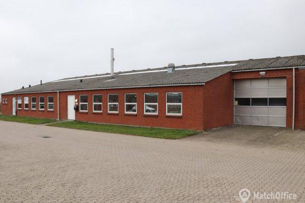 Lager & produktionslokale til leje Nyborg