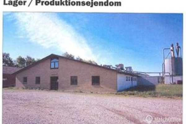 Lager & produktionslokale til leje Ryomgård