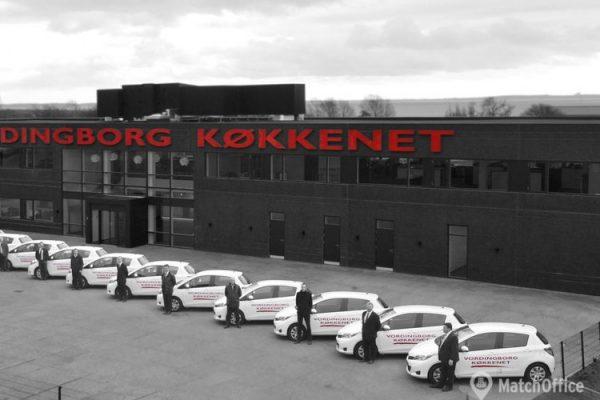 Lager & produktionslokale til leje Vordingborg