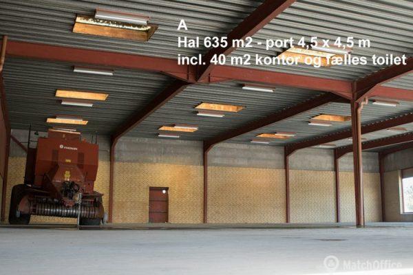 Lager & produktionslokale til leje Kolind