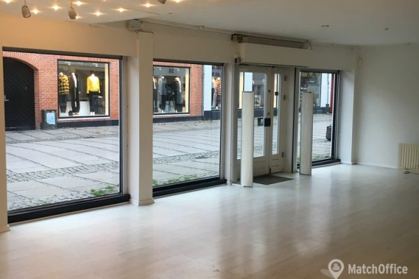 Butikslokale til leje Køge