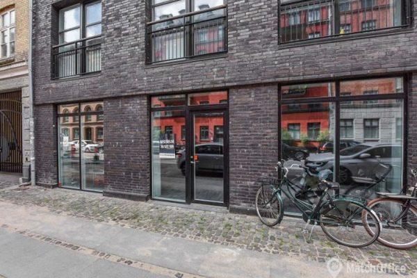 Butikslokale til leje København N