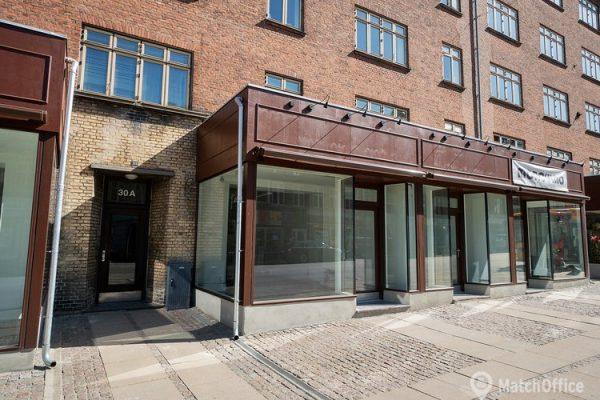 Butikslokale til leje Valby
